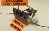 Chasis de cartón para Robots baratos 2: Bugbot