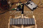 Piano de unidad de DIY (Floppiano)