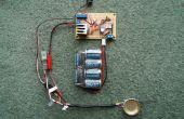 Regulador de voltaje variable - fuente de alimentación lineal filtrada