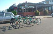 Cómo hacer la bicicleta Bus, una persona 9, bicicleta con ruedas 6.