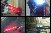 Luces de bicicleta seguridad (pedal accionado) bajo $10