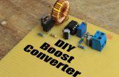 Convertidor DIY || Cómo intensificar eficientemente voltaje DC
