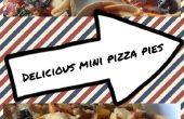 Deliciosa Pizza Mini pasteles
