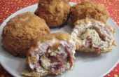Deep Fried Cordon Bleu bolas