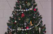 Eliminar Extra extensión acorde de adorno de árbol de Navidad