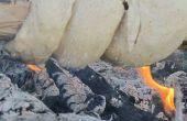 No amasar '' pan de palo '' | Receta rápida para uso de Camping