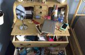 Organizar un escritorio desordenado