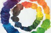 Cómo mezclar colores como una impresora de Color