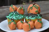 Cupcakes de Oreo Pumpkin Patch