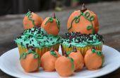 Cupcakes de Oreo Pumpkin Patch