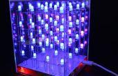 $9 construir una 4 x 4 x 4 RGB LED cubo con creador de animación