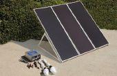 Cómo montar un panel solar