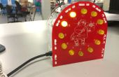 Reloj de LED Arduino powered