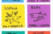 CRIATURAS híbridas: Sellos de tinta DIY - 1er grado jugando - semana 10