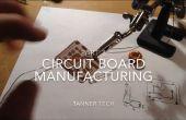 Fabricación de circuitos sin una ordenador parte 3: montaje de soldadura de la superficie