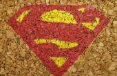 Posavasos de corcho de Superman