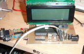 ATmega16/32 desarrollo junta con LCD