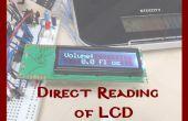 Indicación de LCD usando propósito General IO directa