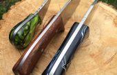 Fabricación del cuchillo - hacer una reliquia!