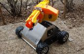 RC tanque Nerf