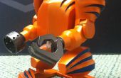 3-d imprime mecánica a pie de Robot de juguete!