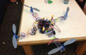 Cero construye su propio helicóptero quad!
