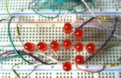 Flecha de un simple y barato LED