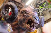 El brujo 3 Full-Scale corto/demonio escultura en arcilla DAS