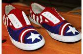 Capitán América zapatillas