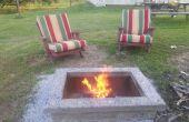 Construir un calentador al aire libre final con piedra de casquillo personalizado: El ManPit