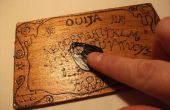 Piro grabado Ouija Board