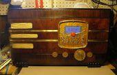 Radio Vintage por Internet Wi-Fi
