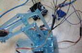 Control mediante aplicación móvil - Arduino y OneSheeld MeArm