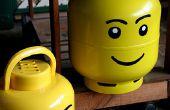 Cabeza de Lego de botella propano