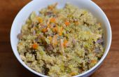 Una maceta de veinte minutos harina libre de Gluten