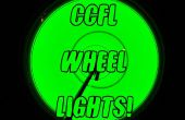 Ruedas de bicicleta de CCFL. (Ahora con video!)