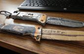 Bear Grylls supervivencia cuchillo