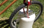 """Moto cubo"" - bicicleta soporte - Portable, barato, ligero"