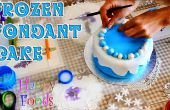 Cómo hacer un pastel de glaseado del Fondant congelado de Disney