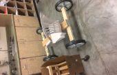 Simple madera Go-Kart-materiales