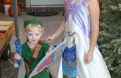 Zelda y Link trajes