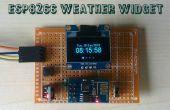 ESP8266 Widget del tiempo