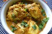 Curry con una diferencia de huevo