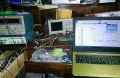 Cómo hacer un osciloscopio de Arduino de bajo costo 16 MHz usando Excel y la pantalla del ordenador a pantalla