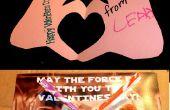 Corazón en la mano y San Valentín Star Wars