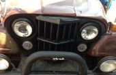 Jeep CJ7 Levante la nariz