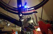 Dinamo de bici DIY inducción magnética sin contacto