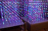 Arduino Mega 8 x 8 x 8 RGB LED cubo