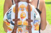 Mochila de Emoji DIY