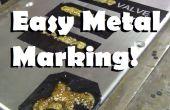 Fácil impresión permanente sobre Metal - Pro resultados en casa!